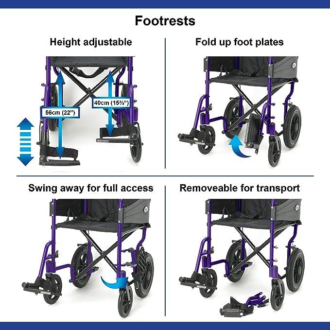 Days Escape Lite Aluminium Wheelchair image 4