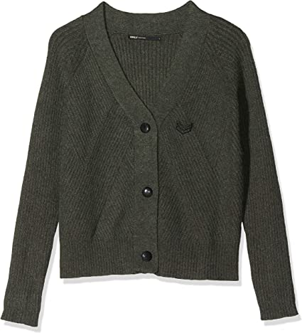 Only Onlsmilla L/S Button Cardigan Knt Chaqueta Punto para Mujer