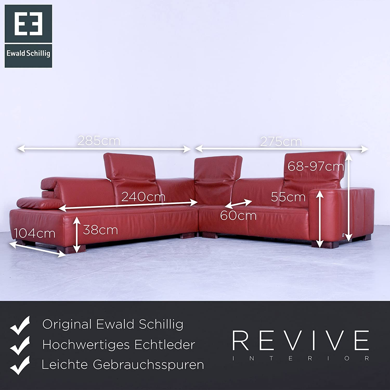 Cool Ewald Schillig Ecksofa Sammlung Von Conceptreview: Designer Orange Rot Leder Couch Funktion