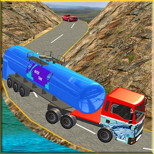 Water Tanker Offroad Transport Truck Driving Game ()