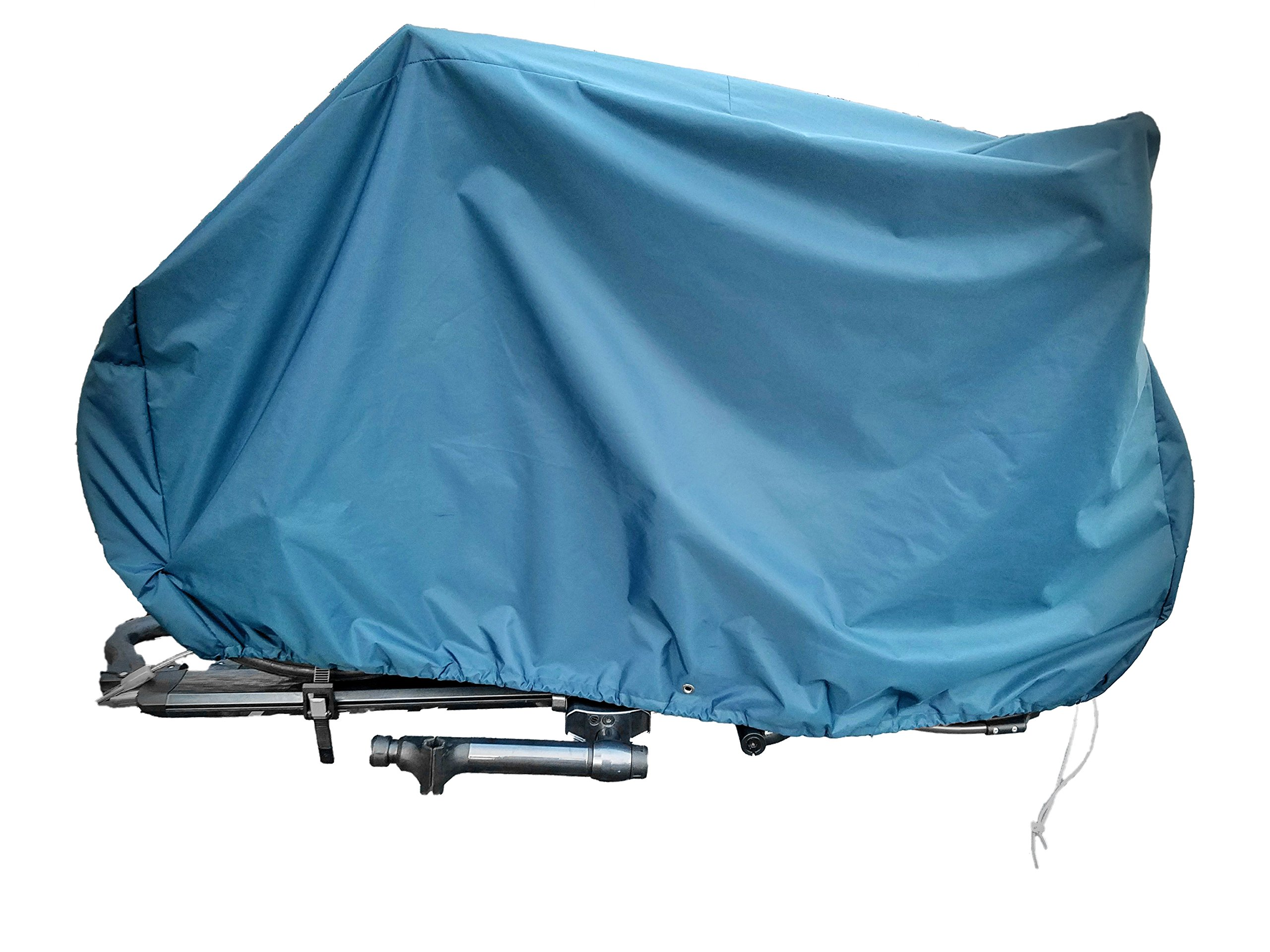 Heavy-duty bike cover for hitch-mount bike racks by OVERCOVERED (Image #2)