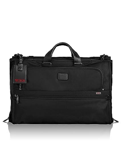 ca0bdc184 Tumi Alpha 2 Tri-fold Carry-on Garment Bag, Black (Black) - 022137: Amazon. co.uk: Luggage