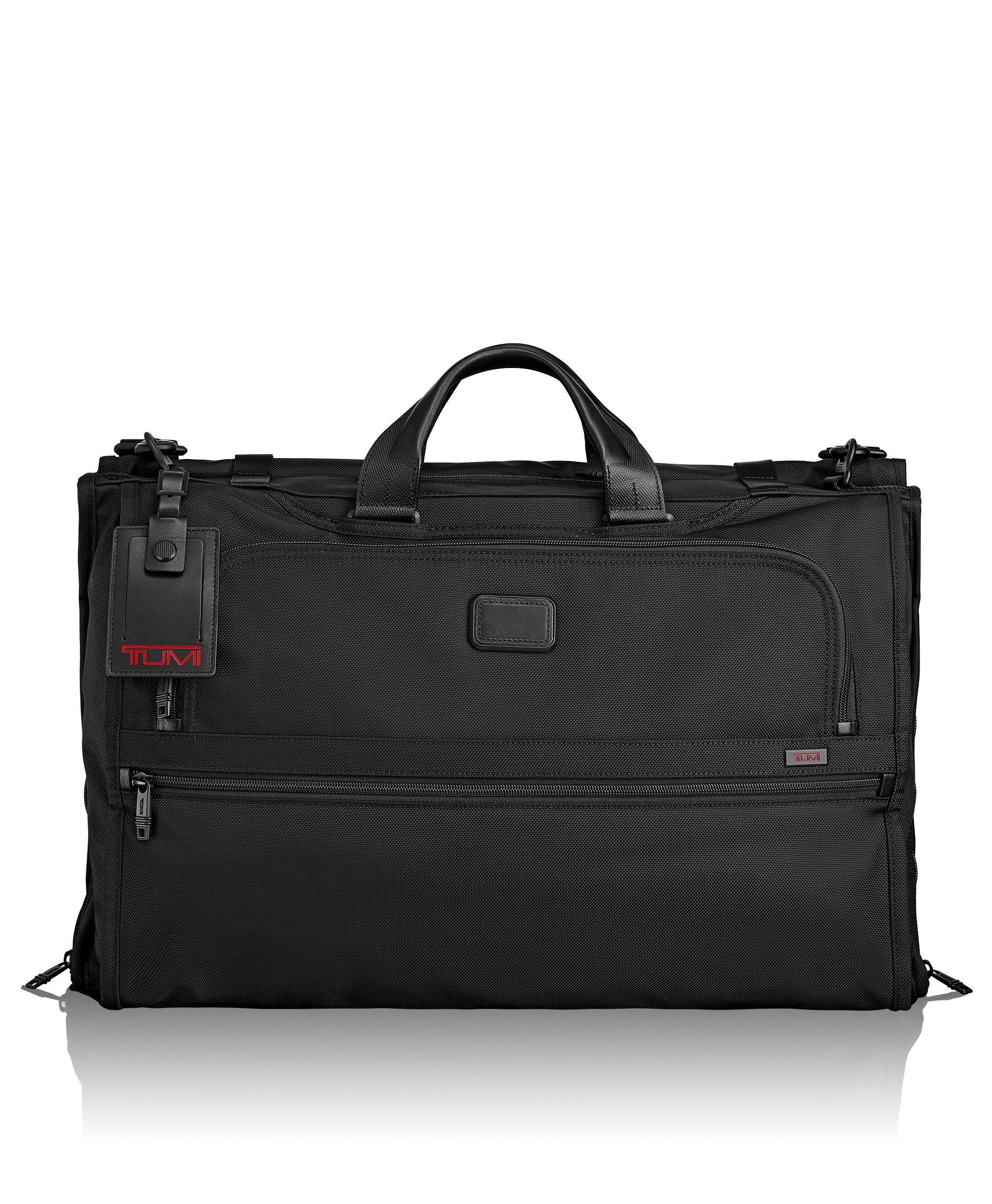 Tumi Alpha 2 Tri-Fold Carry-on Garment Bag, Black