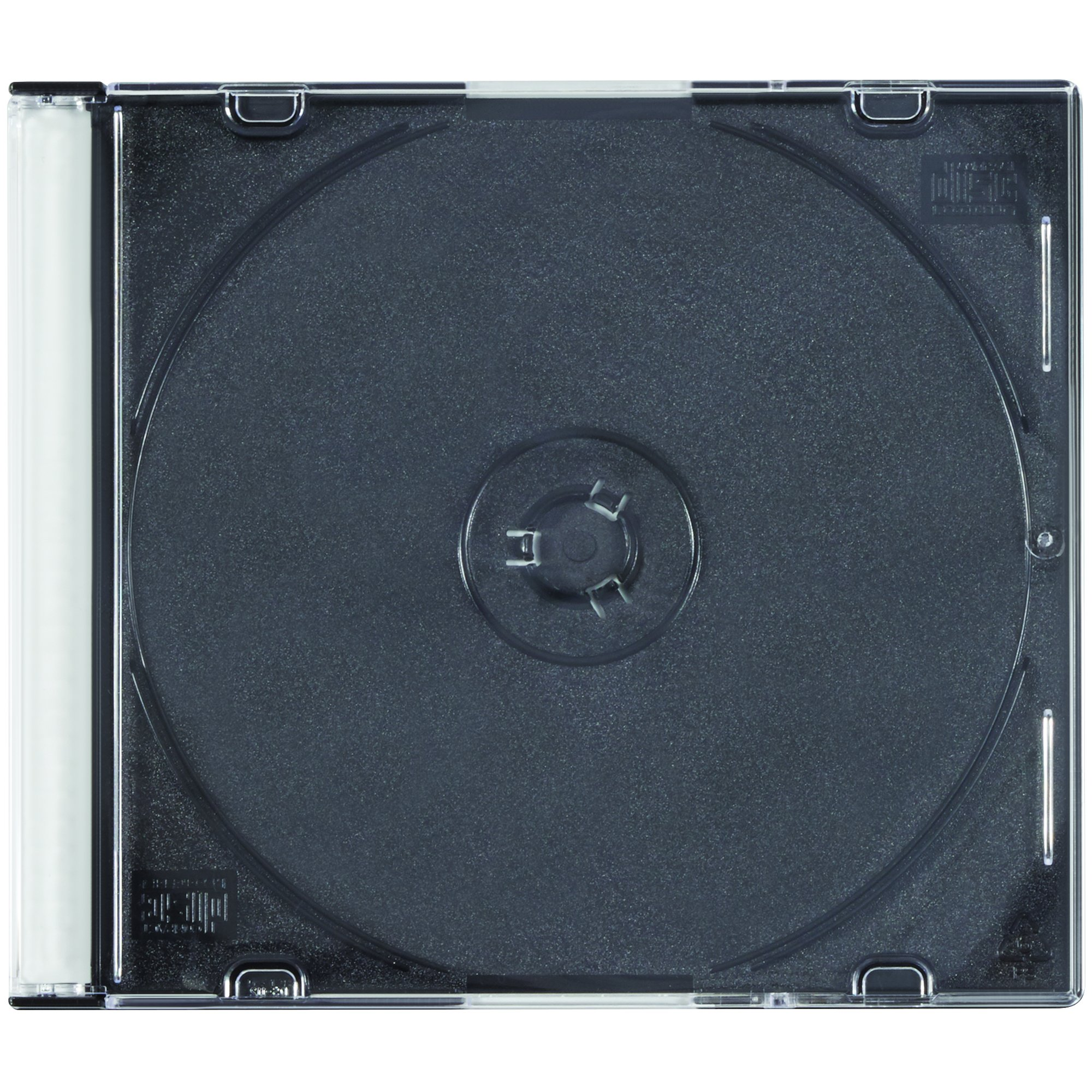 Boxes Fast BFMM1130 Slim Line CD Storage Cases, Disc Jewel Cases, Small Clear CD Cases (Case of 200)
