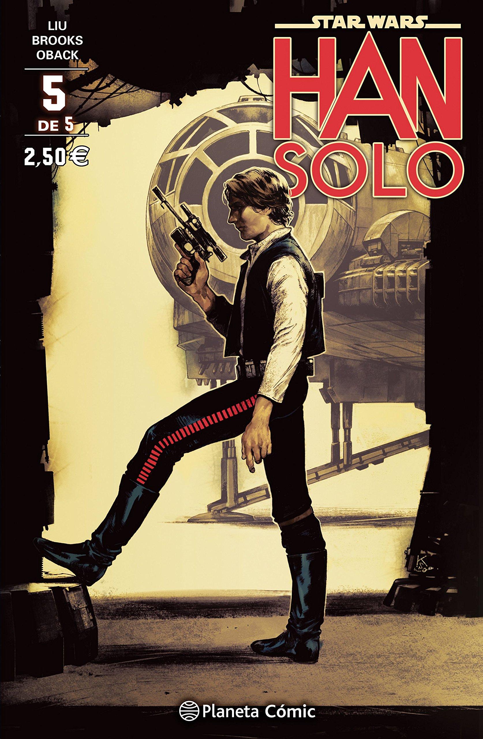 Star Wars Han Solo nº 05/05: 14 Star Wars: Cómics Grapa Marvel ...
