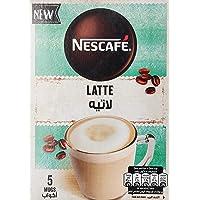 Nescafe Cappuccino Latte Coffee Mix Sachet 19gm (5 Sachets)