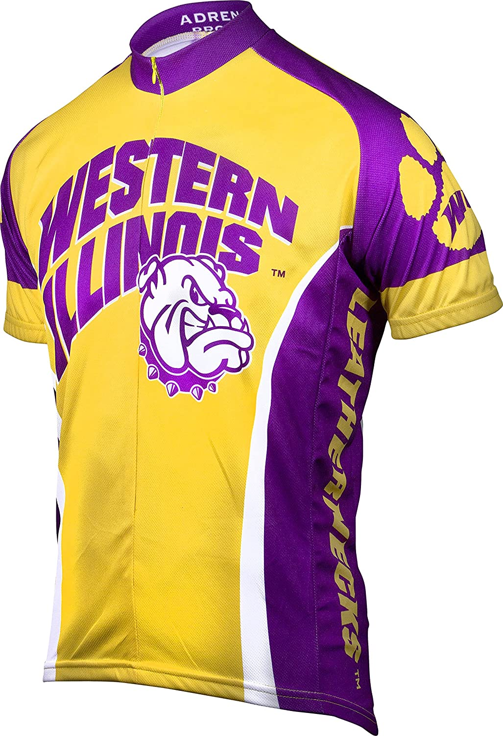 Adrenaline Promotions NCAA Western Illinois Leathernecks Mens Road Jersey