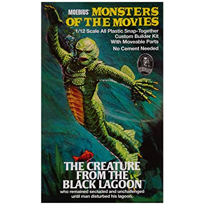 Creature from The Black Lagoon 1/12 Moebius: Toys & Games
