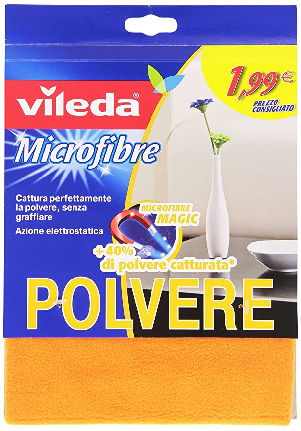 10 opinioni per Vileda- Panno Polvere, in microfibra