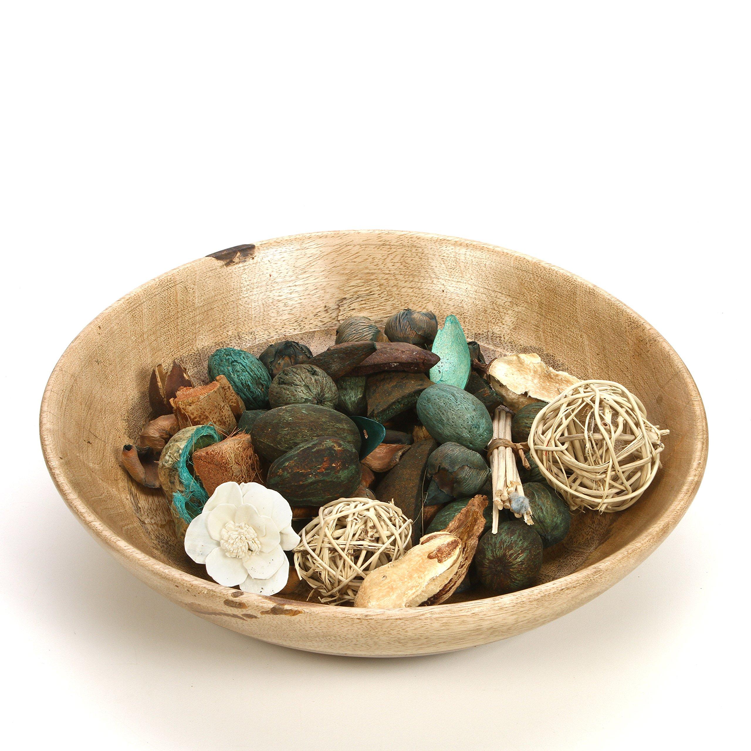 Hosley Set of 6 Bags Eucalyptus Mint Chunky Potpourri 5 Ounce Each. Ideal for Party Favor Weddings spa Reiki Meditation Bathroom Settings. O4 by Hosley (Image #4)