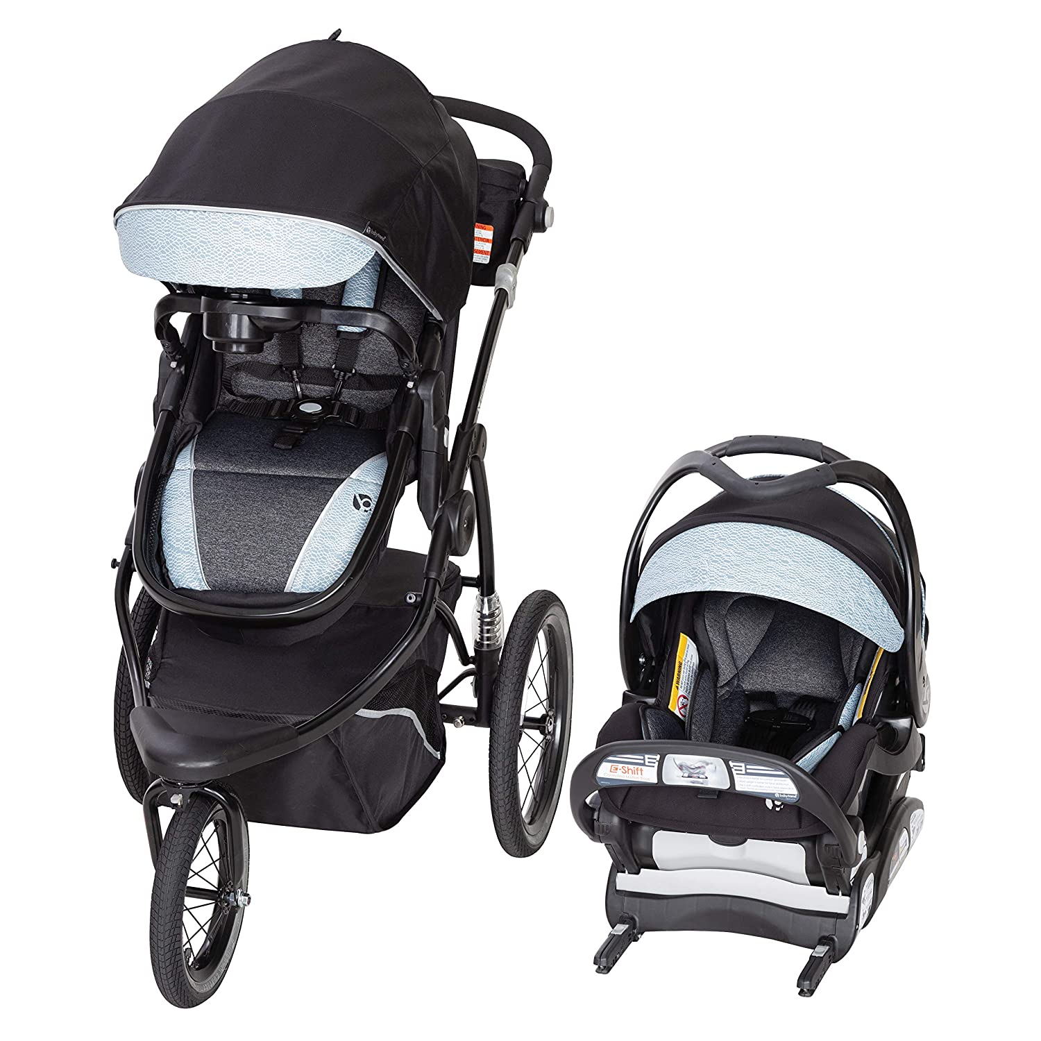 Amazon Com Baby Trend Go Gear 180 Degree 6 In 1 Travel System