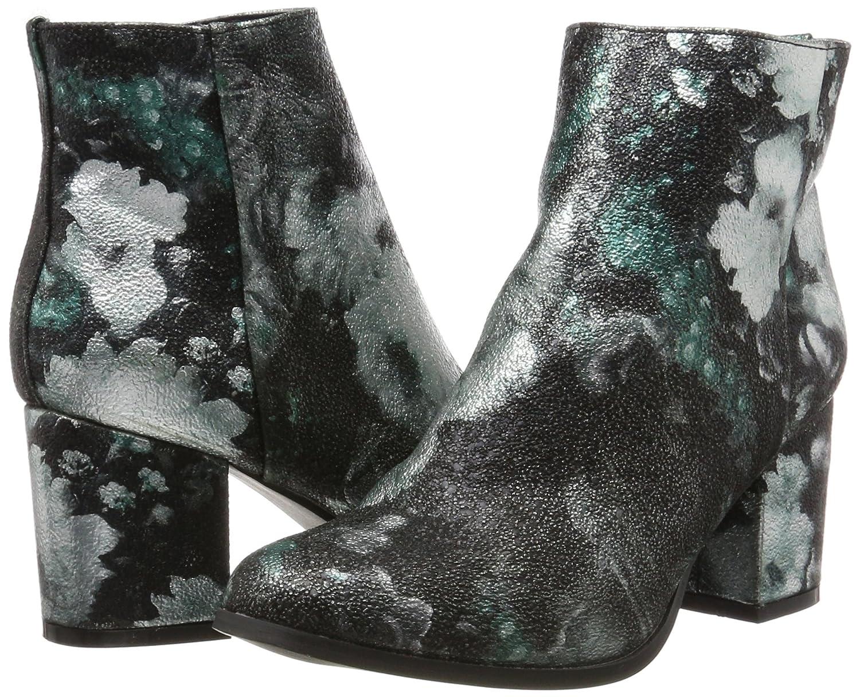 VERO MODA Damen Damen Damen Vmgina Boot Stiefel Mehrfarbig (schwarz_Blau Flowers) 7d3c6c