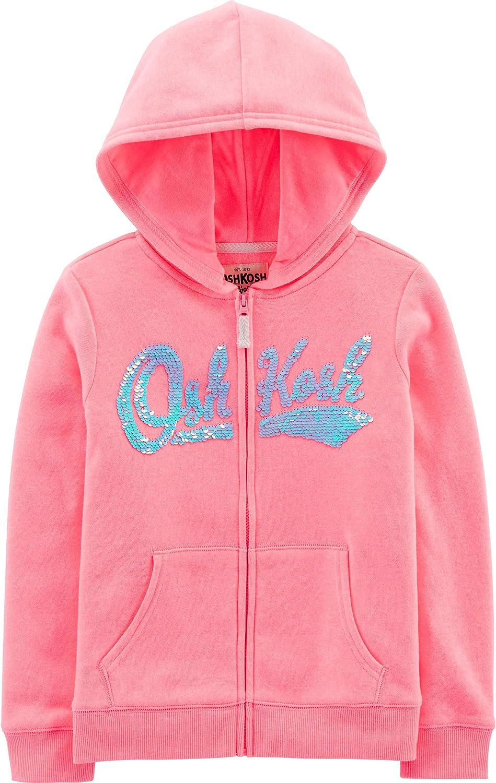 OshKosh BGosh Girls Full Zip Logo Hoodie