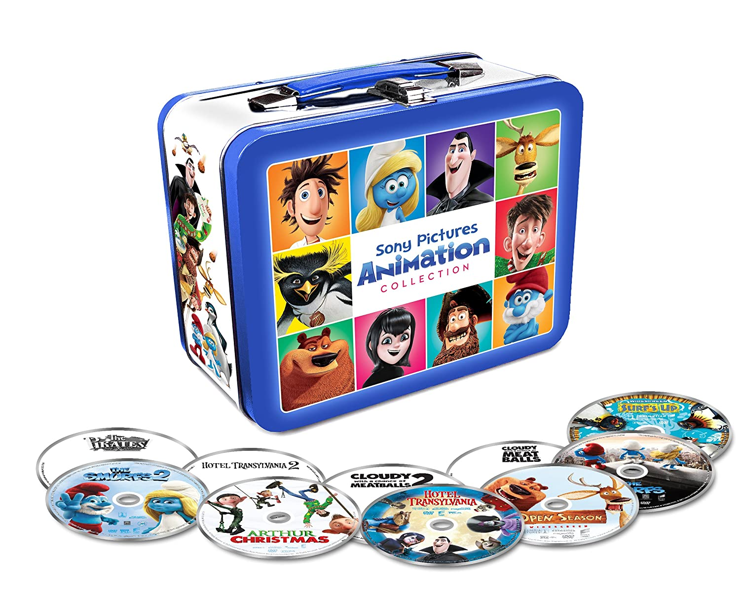 Amazon sony pictures animation collection mft 10 discs amazon sony pictures animation collection mft 10 discs dvd surfsopencloudy 12hotel t12arthurpiratessmurfs 12 multiple movies tv negle Image collections