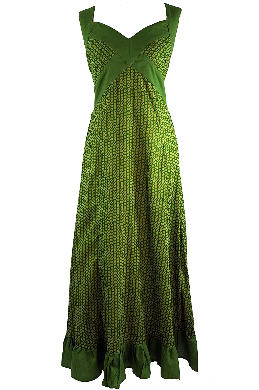 Sommerkleid, Maxikleid, Strandkleid grün / Lange Kleider ...