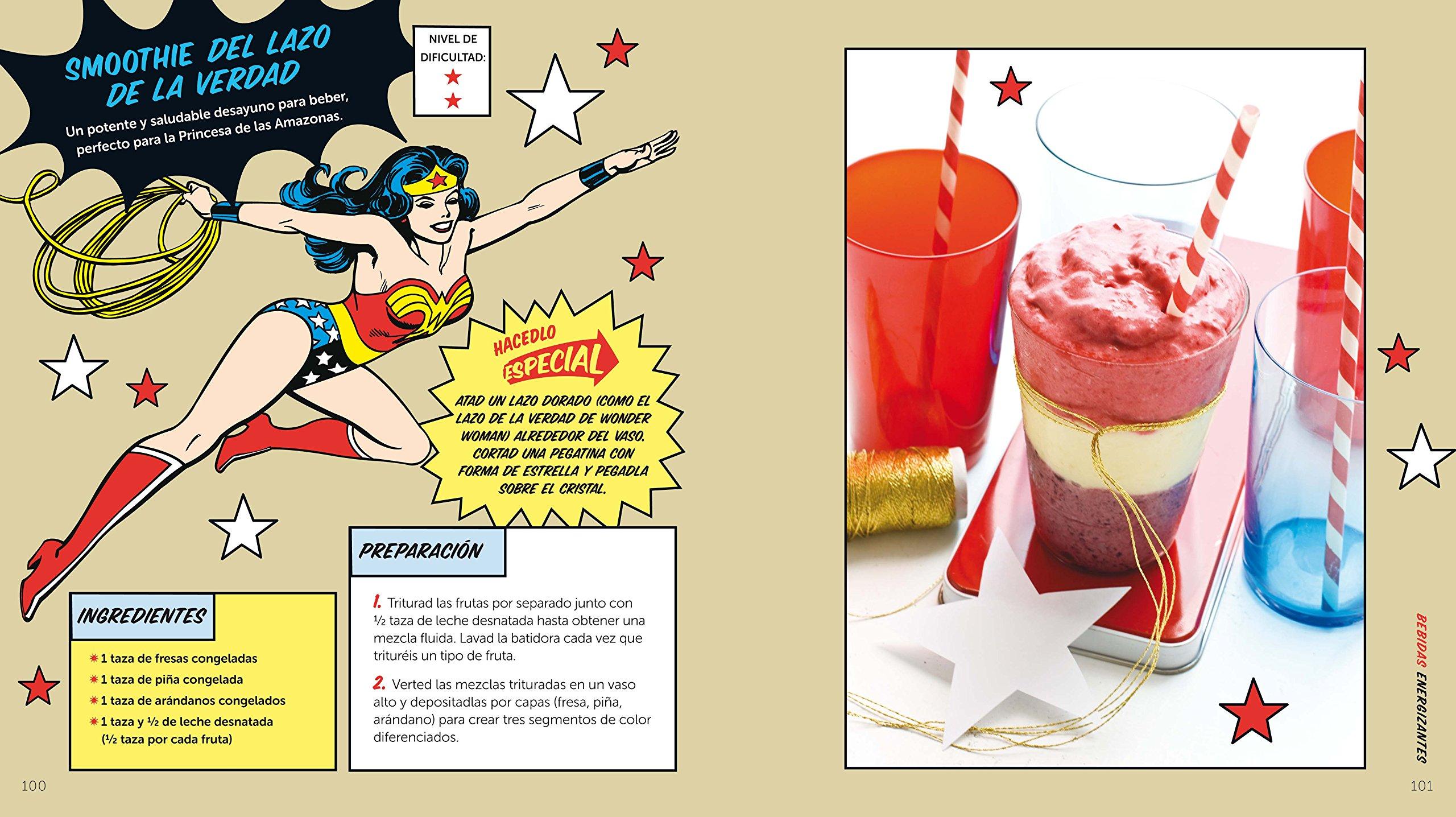 El libro oficial de recetas de los superhéroes: Matthew Mead: 9788415094173: Amazon.com: Books