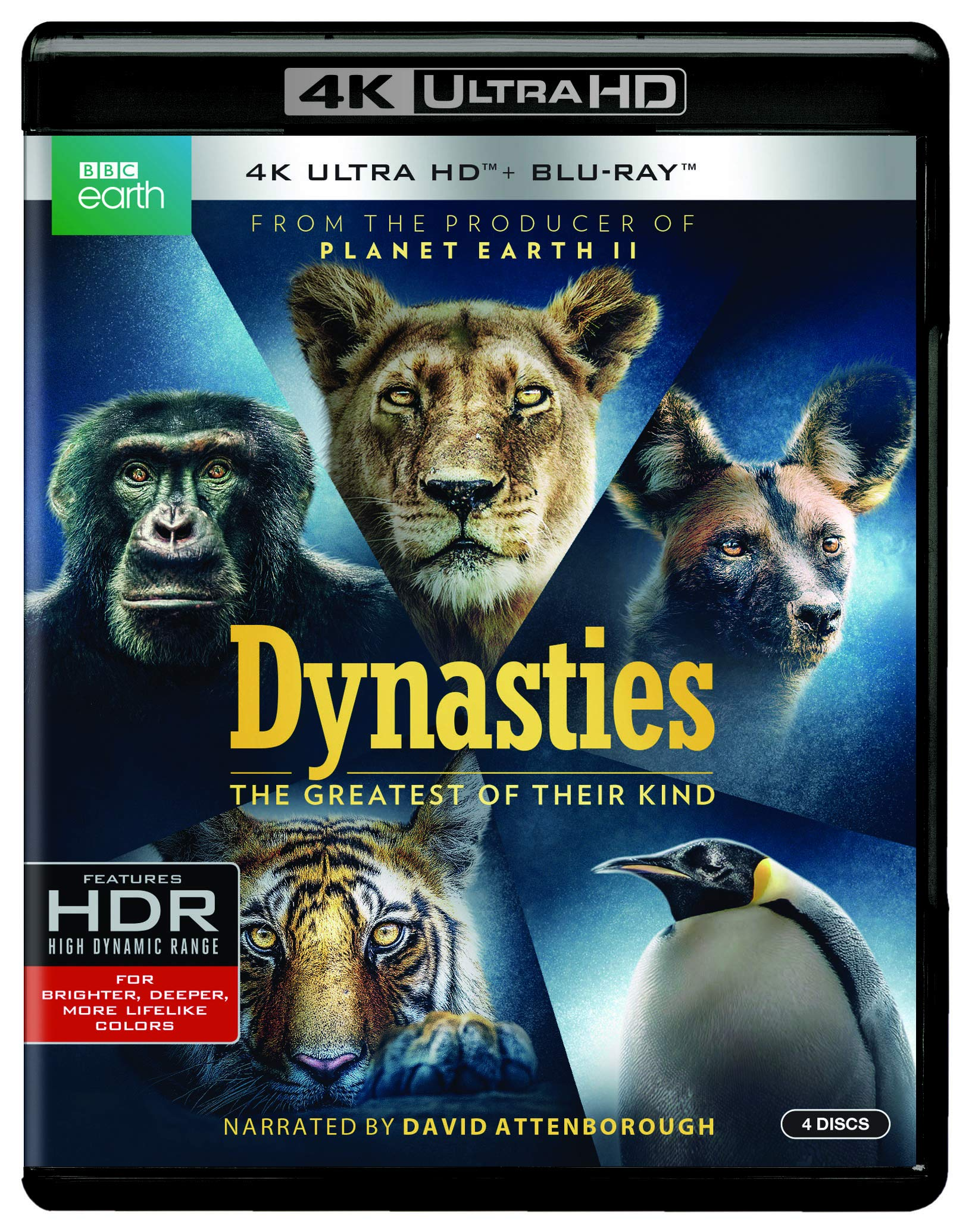 4K Blu-ray : Dynasties (With Blu-ray, 4K Mastering, 2 Pack)
