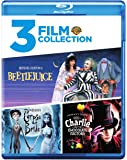Beetlejuice / Charlie and the Chocolate Factory / Tim Burton's Corpse Bride (Triple Feature) [Blu-ray]