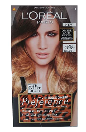 Amazon loreal preference wild ombres dip dye hair kit loreal preference wild ombres dip dye hair kit ombre no 104 light pmusecretfo Gallery