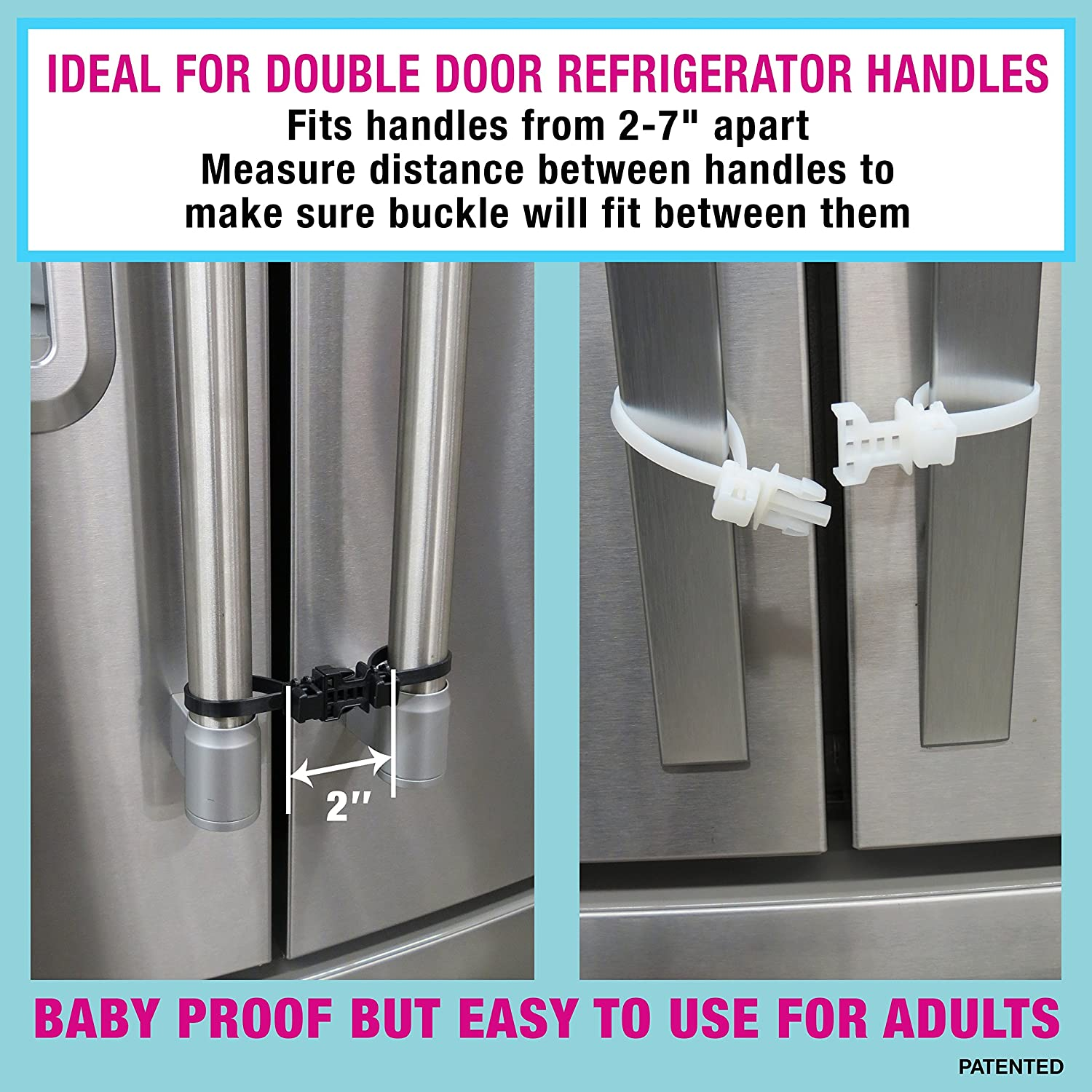 Childproof Cabinet Locks Amazoncom Kiscords Baby Safety Cabinet Locks For Handles Child