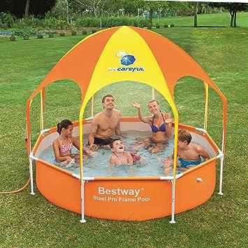 Amazon.com: Bestway jardín al aire última intervensión 8 ft ...