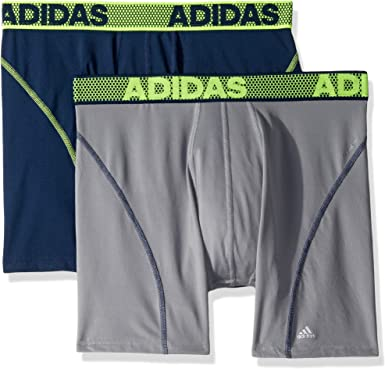 ángel Pies suaves padre  adidas Men's Sport Performance ClimaCool Boxer Brief Underwear (2 Pack):  Amazon.ca: Clothing & Accessories