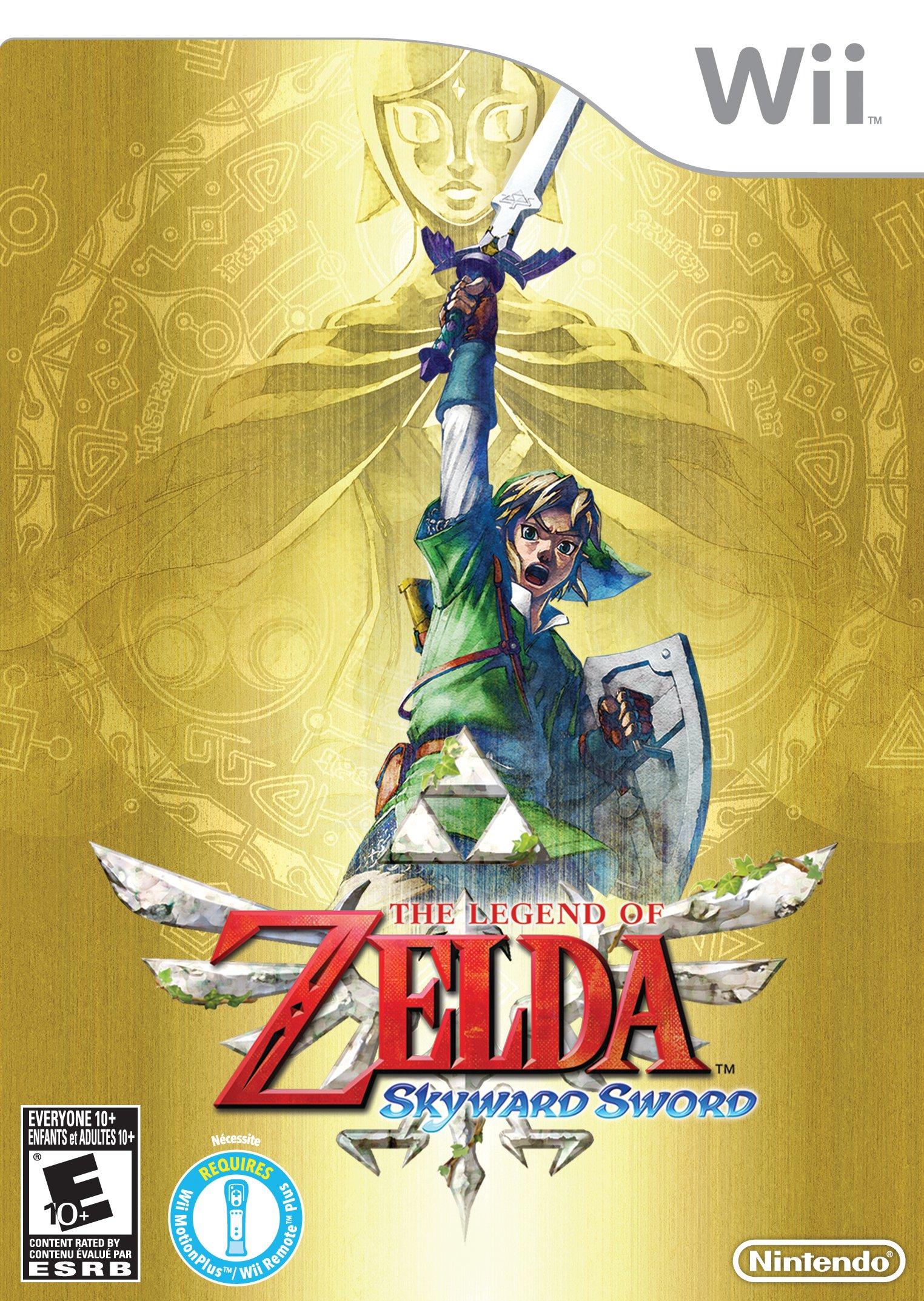 Amazon The Legend Of Zelda Skyward Sword Video Games
