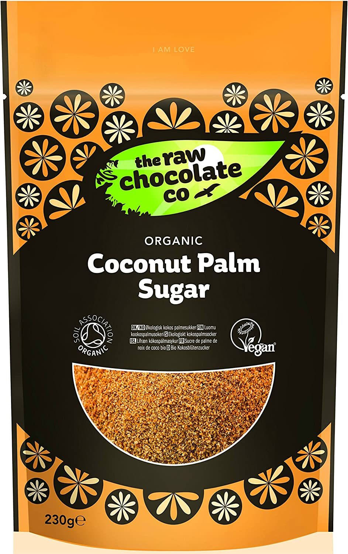 The Raw Chocolate Company Ltd Organic Coconut Palm Sugar 230g 230g Pack Of 1