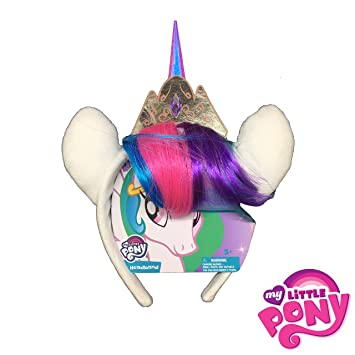Amazon.com   My Little Pony Headband - Princess Celestia Faux Hair   Beauty ff2a7e5dcef