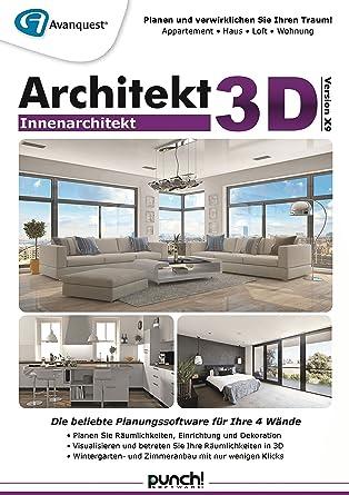 Innenarchitektur Mac Os X amazon com architekt 3d x9 innenarchitekt fotorealistische