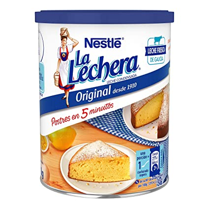 Nestlé La Lechera - Leche condensada entera - Lata de leche condensada entera abre fácil 740