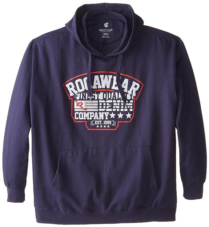 Amazon.com: Rocawear Hombre big-tall ladrillos – Sudadera ...