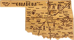 Totally Bamboo Oklahoma State Destination Bamboo Serving and Cutting Board