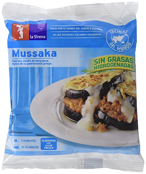La Sirena -Mussaka Griega 300 gr