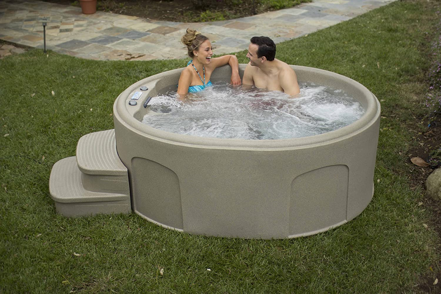 Lifesmart Rock Solid Luna Spa with Plug & Play Operation