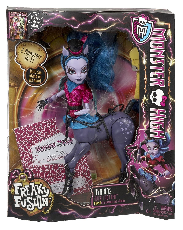 Mattel Monster High Monster High Freaky Fusion Avia Trotter Doll [UK ...