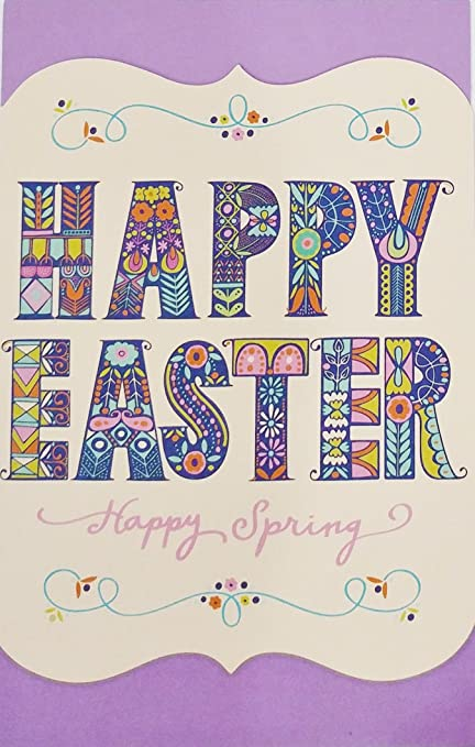 Amazon happy easter greeting card may you always be happy easter greeting card quotmay you always be surrounded by the smiles of m4hsunfo