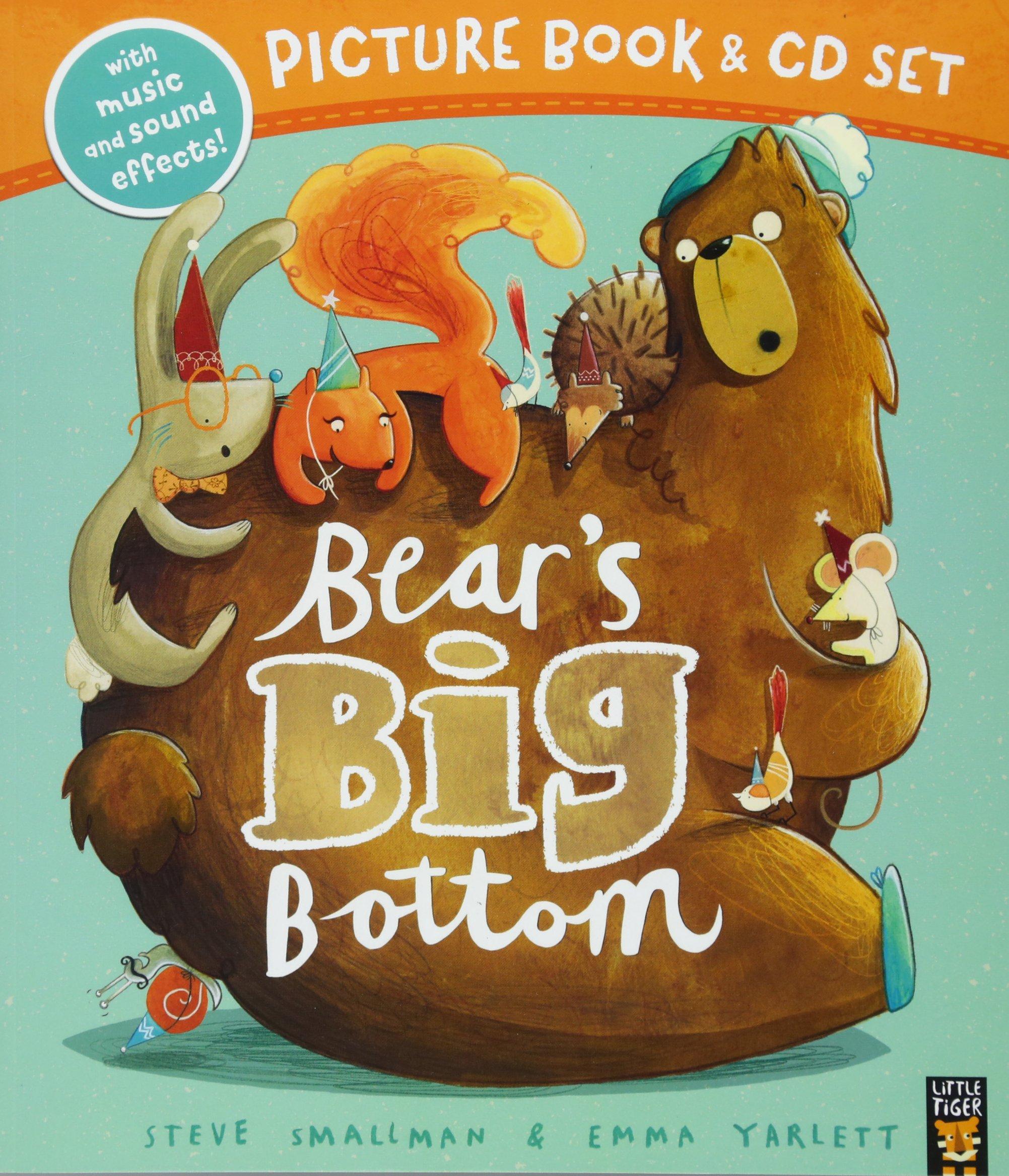 Read Online Bear's Big Bottom Book & CD pdf epub