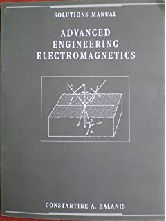 Advanced engineering electromagnetics balanis constantine a solutions manual advanced engineering electromagnetics fandeluxe Images