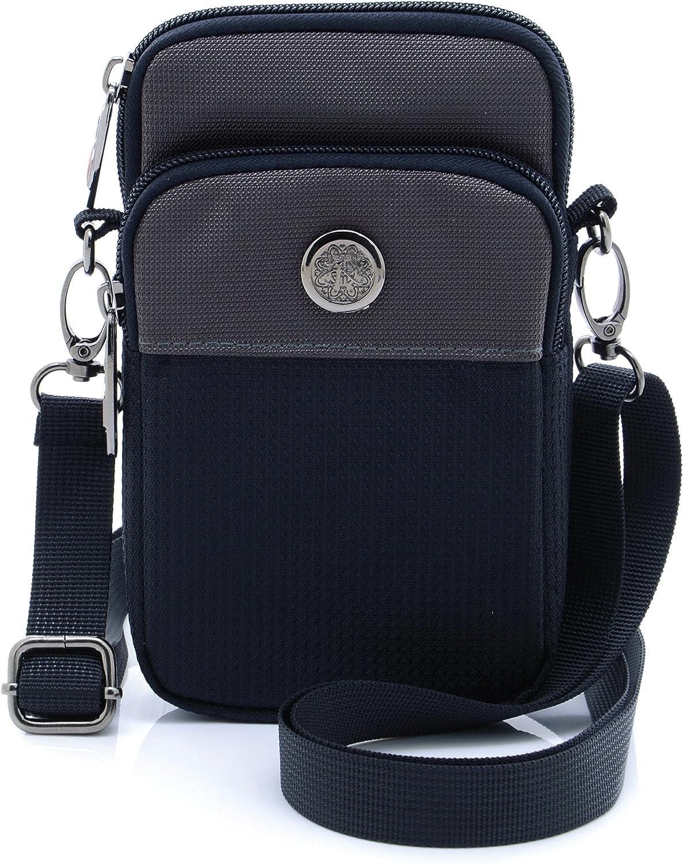 Waterproof Oxford Jogging Sport Armband Belt Hook Waist Pack Small Messenger Bag