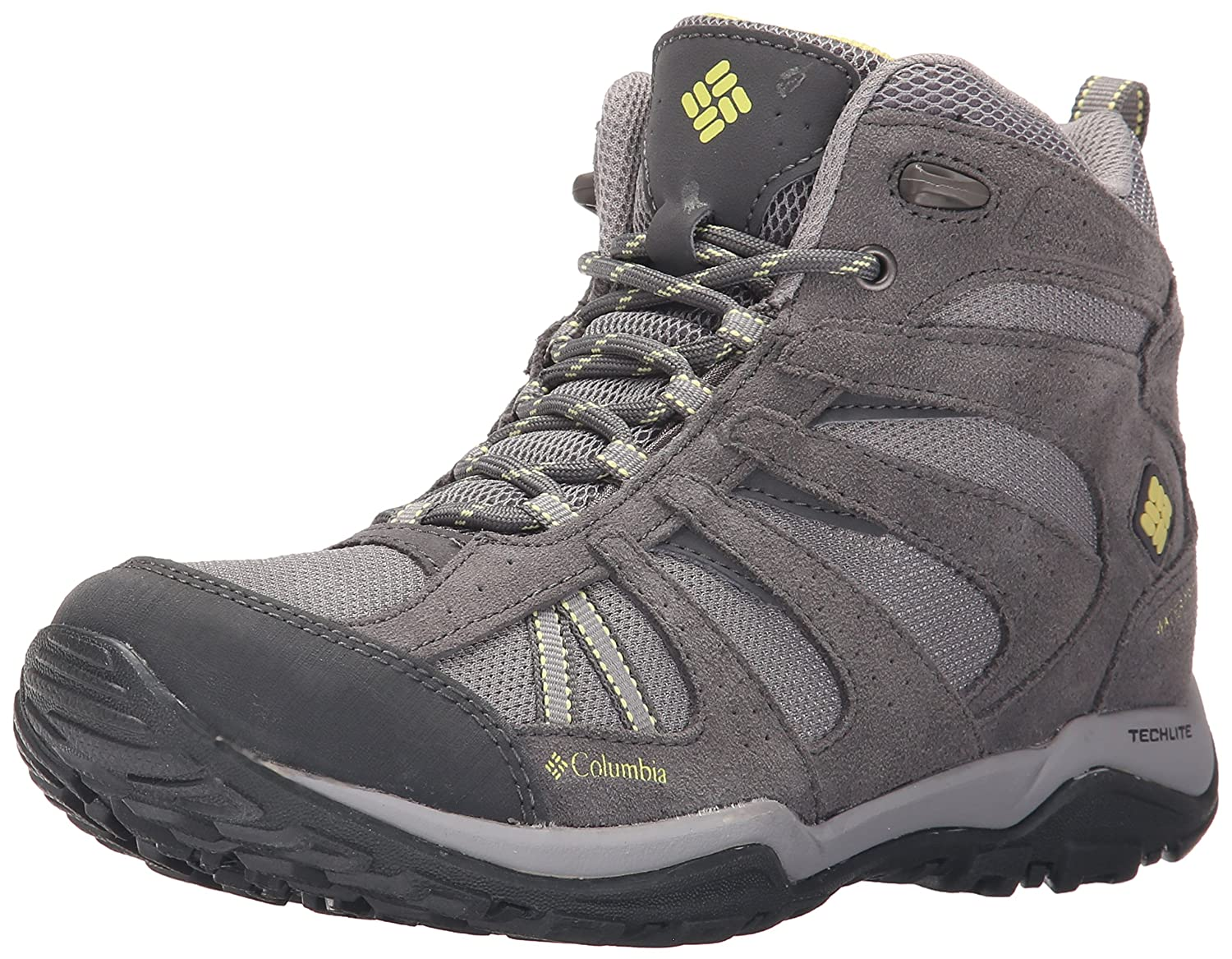 Columbia Women's Dakota Drifter Mid Waterproof Trail Shoe B01015LIYA 7 B(M) US|Light Grey, Sunnyside