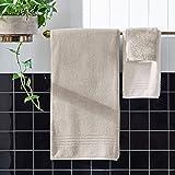 Rivet Quick-Dry Cotton Bath Towels, 2-Pack, Vapor