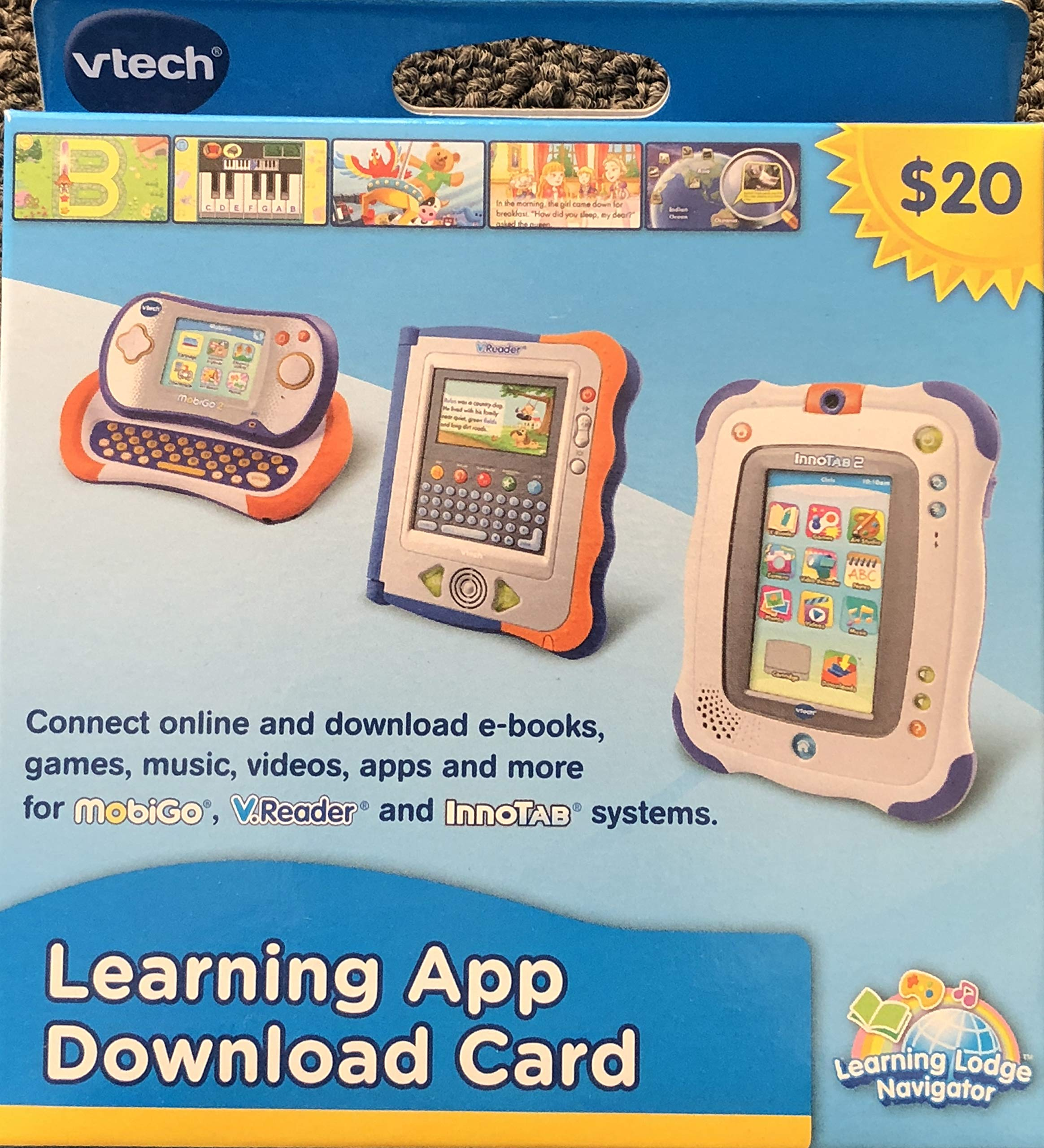 MobiGo Vtech Touch Learning System Bundle Includes: 4X Games - Disney Fairies, Disney Princess, Dinosaur Train, Monsters University & $20 Download Card (Bundle One) by MobiGo (Image #6)
