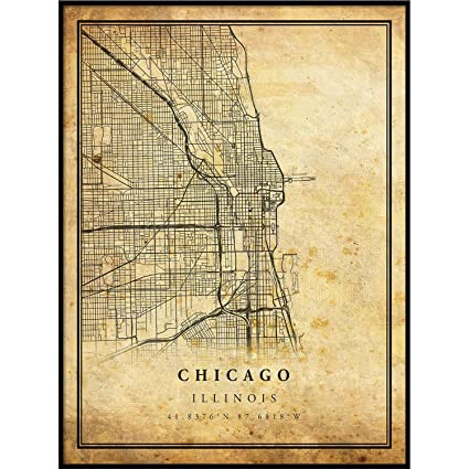 Chicago map Vintage Style Poster Print | Old City Artwork Prints | on chicago on the water, new orleans map, chicago attractions, houston map, chicago illinois, chicago suburbs, seattle map, chicago neighborhoods, chicago on google maps, chicago restaurants, chicago skyline, chicago il, philadelphia map, miami map, hong kong map, dallas map, washington dc map, chicago people, phoenix map, detroit map,