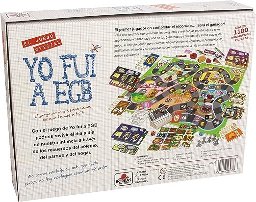 Educa - o Fui A EGB, Juego de mesa familiar, Preguntas y pruebas para nostálgicos de la EGB, a partir de 12 años (16587): Amazon.es: Juguetes y juegos