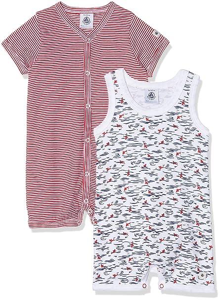 Petit Bateau Mimi Conjuntos de Pijama para Bebés: Amazon.es ...