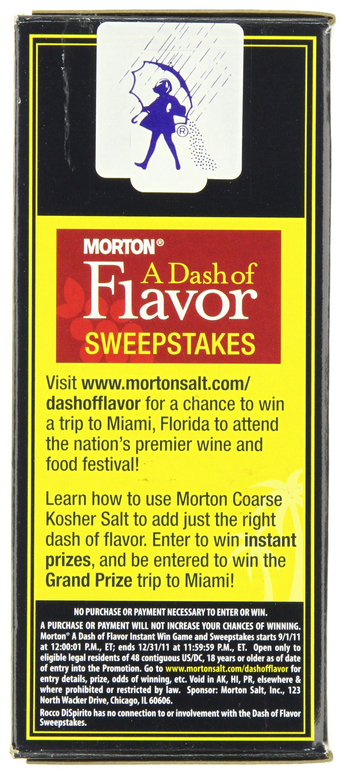 Morton Kosher Salt-Coarse, 3-Pounds (Pack of 12) by Morton (Image #4)