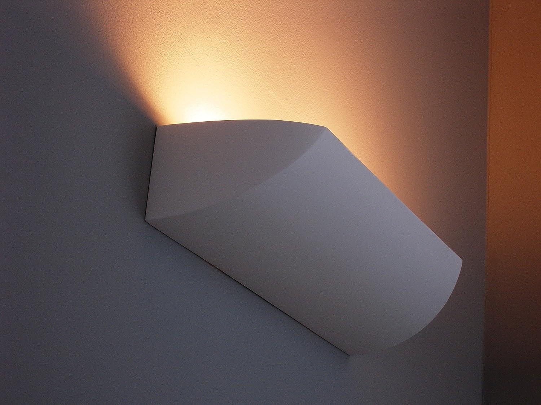 Aplique atemporal en blanco 2 x E27 hasta 23 W 230 V Lámpara de ...
