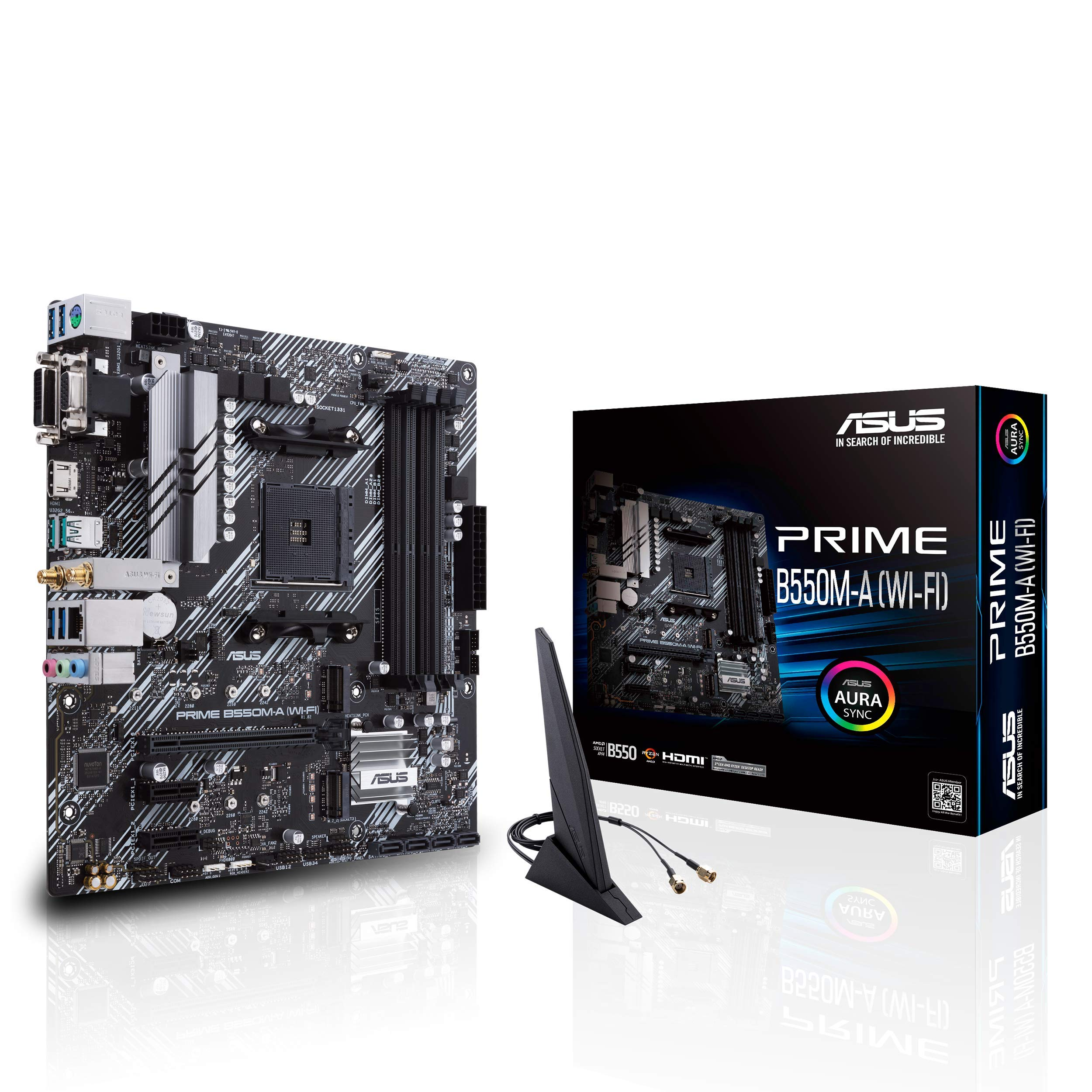 Motherboard ASUS PRIME B550M-A (WI-FI) Socket AM4