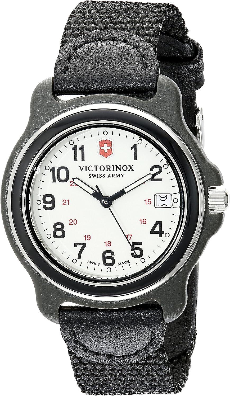 Victorinox Men's 249087 Original XL Black Stainless Steel Watch